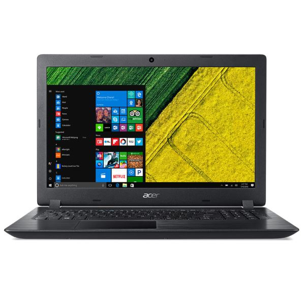 ACER A315 AMD RYZEN 3 2200U 2.5GHZ-4GB-1TB HDD-15.6