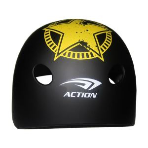Action MTV-12 Junior Siyah Kask (53-55 CM) FNS-PTNKSKACT007