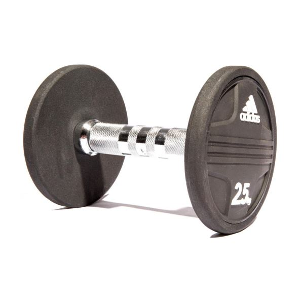 Adidas Rubber Dumbbell 2,5Kg (ADWT-11340) FNS-AGRDMBADS016