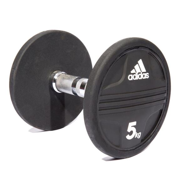 Adidas Rubber Dumbbell 5Kg (ADWT-11341) FNS-AGRDMBADS017