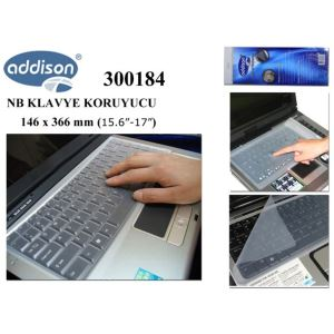 ADDISON 300184  15.6''-17'' NOTEBOOK KLAVYE KORUYUCU