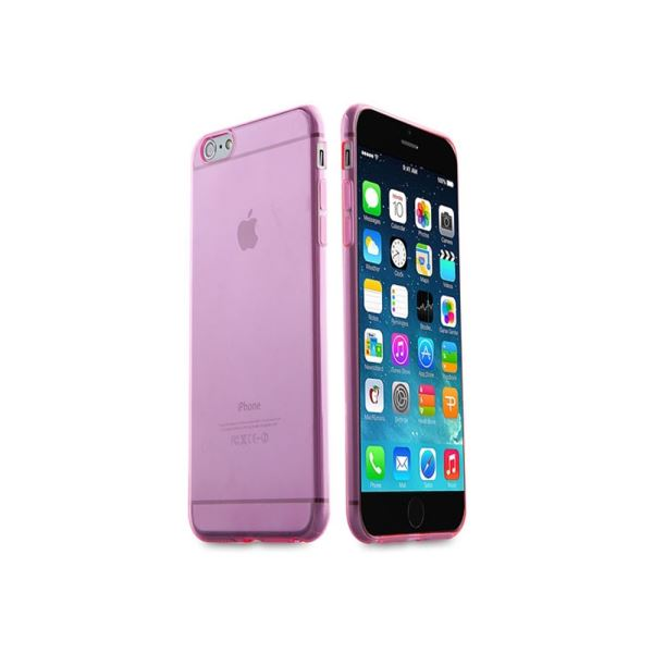 IP-657 ADDISON IPHONE 6 PLUS 5.5'' ŞEFFAF KORUMA KILIFI- (PEMBE)