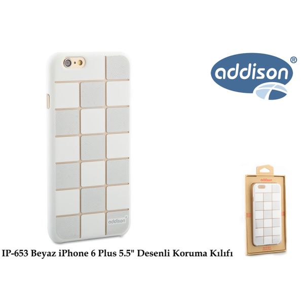 ADDİSON IP-653 BEYAZ İPHONE 6 PLUS 5.5