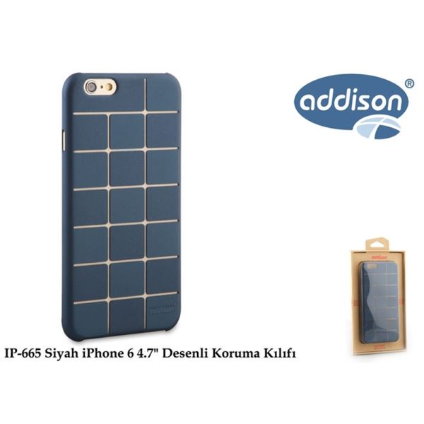 ADDİSON IP-665 SİYAH İPHONE 6 4.7