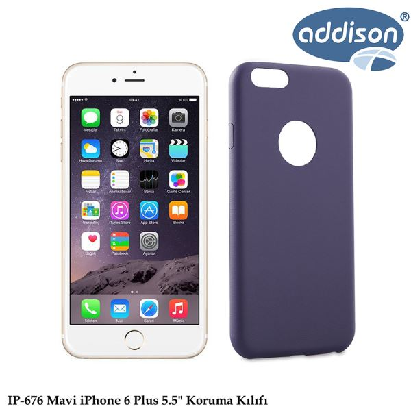 ADDISON IP-676 IPHONE 6 PLUS KORUMA KILIFI MAVİ