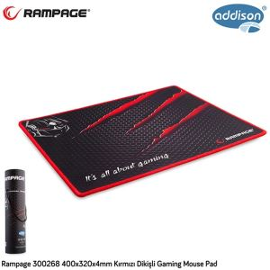 300268 ADDISON RAMPAGE OYUNCU MOUSE PAD 400X320X4MM