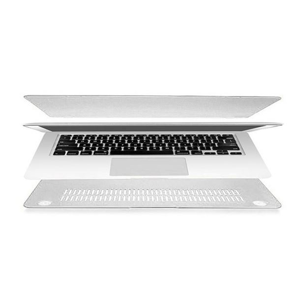 ADDISON 300661 11'' MACBOOK AİR SERT KAPAKLI KILIF- (BEYAZ)