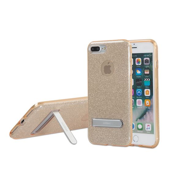 ADDISON IP-713P SHİNE GOLD İPHONE7 PLUS STANDLI KORUMA KILIFI