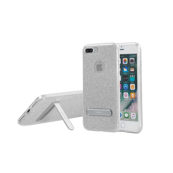 ADDISON IP-713P SHİNE GRİ İPHONE7 PLUS STANDLI KORUMA KILIFI