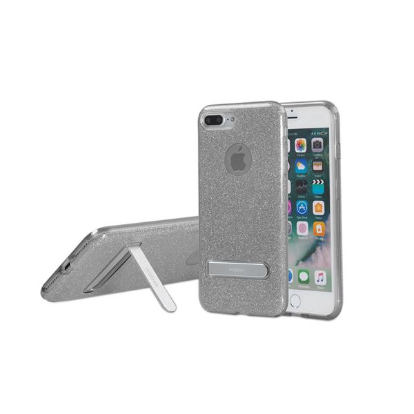 ADDISON IP-713P SHİNE SİYAH İPHONE7 PLUS STANDLI KORUMA KILIFI