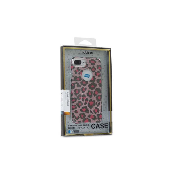 ADDISON IP-717P SHİNE LEOPARD SERİ İPHONE7 PLUS KORUMA KILIFI