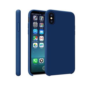 ADDISON IP-881 MAVİ IPHONE X SOFT TELEFON KILIFI