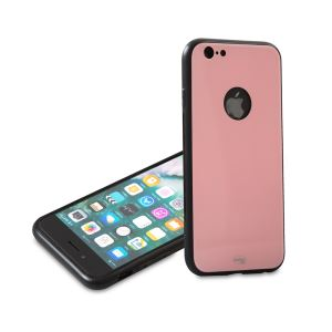 ADDİSON IP-887S PEMBE İPHONE 6/6S GLASS TELEFON KILIFI