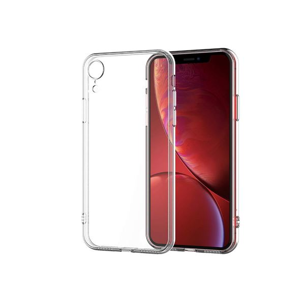 ADDISON IP-XRK Şeffaf Iphone XR Telefon Kılıfı
