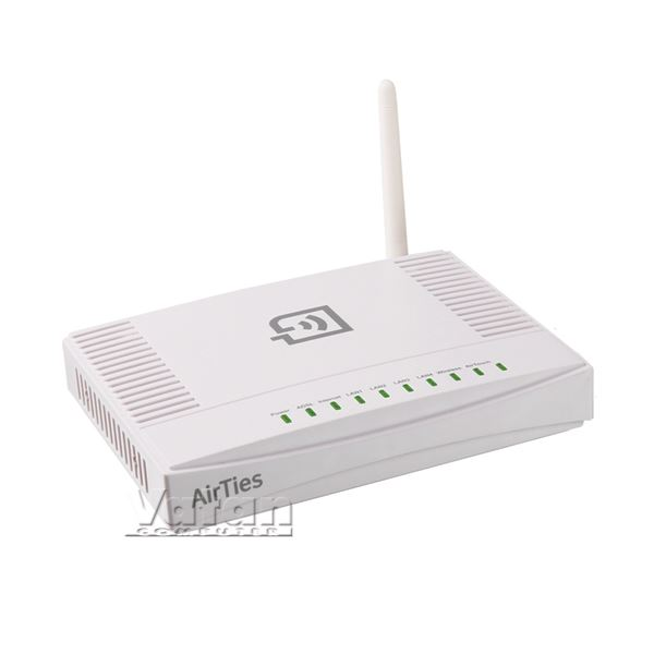 AIRTIES AIR 5341 72MBPS KABLOSUZ-N ADSL2+ 4 PORT MODEM