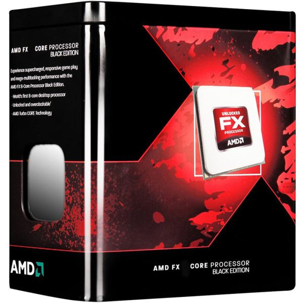 AMD FX X8 8300 Soket AM3+ 3.3GHz 16MB Önbellek 95W 32nm İşlemci