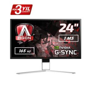 "AOC 23.8"" AGON AG241QG 165Hz 1ms GSYNC 2K Gaming Monitör"