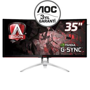 "AOC 35"" AGON AG352UCG 4Ms Curved 100Hz QHD Gsync Gaming Monitör"