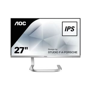 "AOC 27"" PDS271 PORSCHE DESIGN IPS 4ms HDMI Full HD Ultra Slim Monitör"