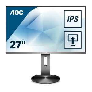 "AOC 27"" I2790PXQU/BT 4ms IPS HDMI+DP+VGA Full HD Pivot Monitör"