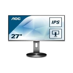 "AOC I2790PXQU/BT 27"" 4ms IPS HDMI+DP+VGA Full HD Pivot Monitör"