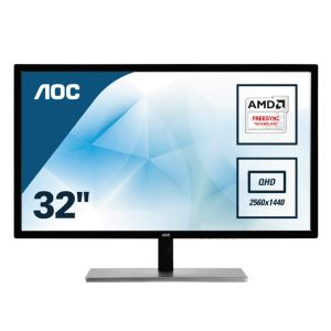 "AOC 31,5"" Q3279VWFD8 IPS 5ms 75Hz 5ms FreeSync(D-SUB+HDMI+Display)2K  Monitör"