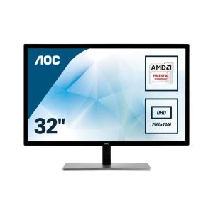"AOC Q3279VWFD8 31,5"" IPS 5ms 75Hz 5ms FreeSync(D-SUB+HDMI+Display)2K  Monitör"