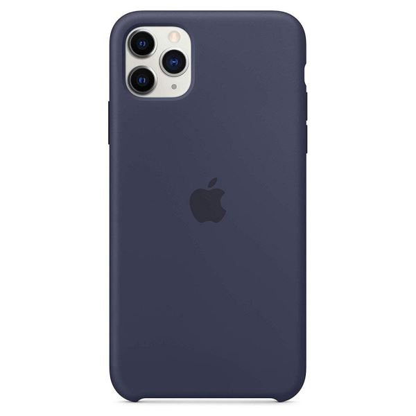 APPLE MWYW2ZM/A İPHONE 11 PRO MAX SİLİKON  KILIF - MİDNİGHT BLUE