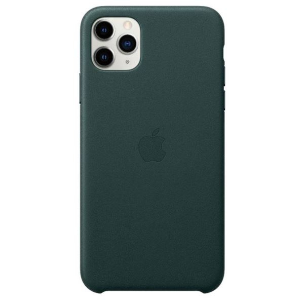 APPLE MX0C2ZM/A İPHONE 11 PRO MAX DERİ KILIF - FOREST GREEN