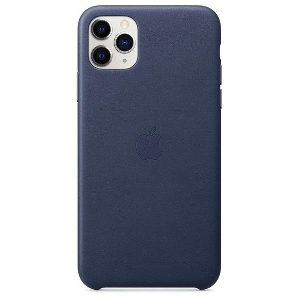 APPLE MX0G2ZM/A İPHONE 11 PRO MAX DERİ KILIF - MİDNİGHT BLUE