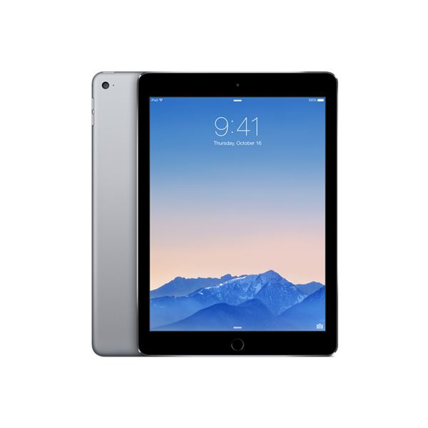 Ipad Air 2-64GB WIFI-SpaceGrey-9.7''Retina-Bluetooth-10 Saat Pil Ömrü-437Gr