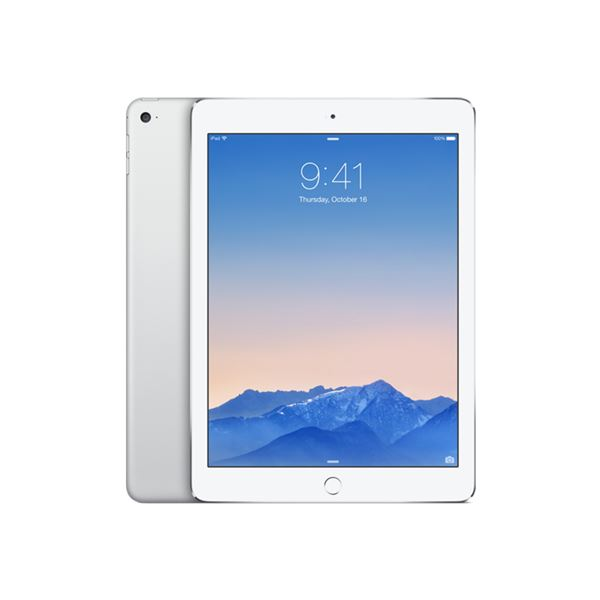 Ipad Air 2-64GB WIFI-Gümüş-9.7'Retina-Bluetooth-10Saate KadarPil Ömrü437Gr