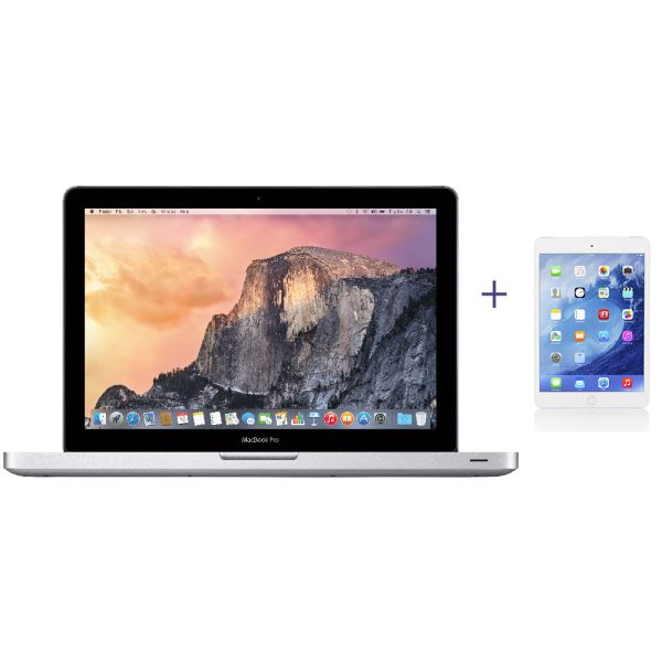 MD101TU/A NOTEBOOK+ MD531TU/A IPAD MİNİ