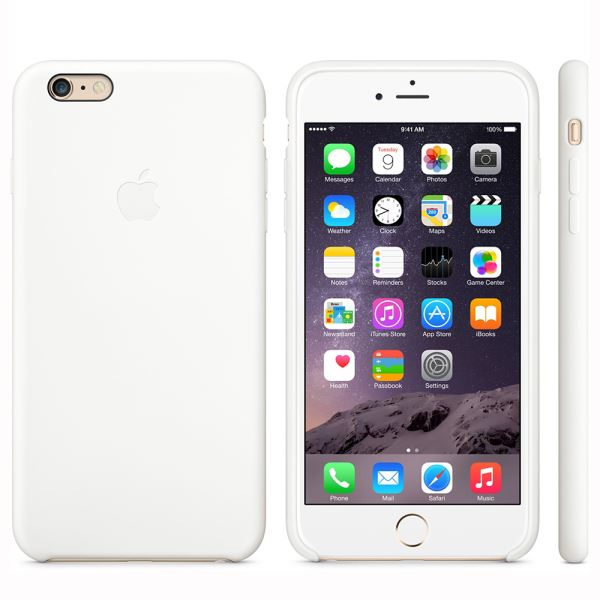 MGRF2ZM/A IPHONE 6 PLUS SİLİCONE CASE- (BEYAZ)