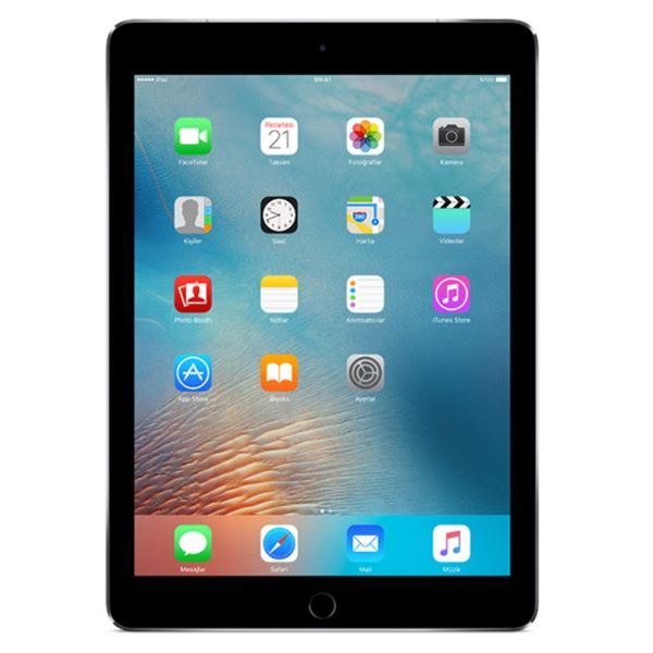 Ipad Pro-32GB WIFI-SpaceGray-9.7''Retina-Bluetooth-10 Saate KadarPil Ömrü-437Gr