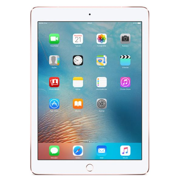 Ipad Pro-256GB WIFI-Rose Gold -9.7''Retina-Bluetooth-10Saate KadarPil Ömrü-437Gr