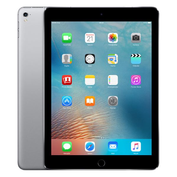 Ipad Pro-128GB WIFI+4G-SpaceGray-9.7''Retina-Bluetooth-10SaateKadarPilÖmrü-444Gr