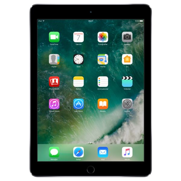 Ipad Air 2-32GB WIFI-SpaceGrey-9.7''Retina-Bluetooth-10 Saat Pil Ömrü-437Gr
