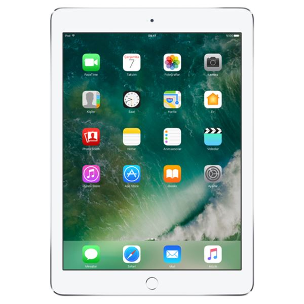Ipad Air2-32GB WIFI+4G-Gümüş-9.7'Retina-Bluetooth-10Saate KadarPil Ömrü444Gr