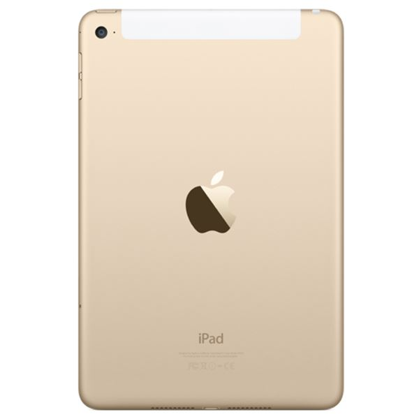Ipad Mini4-32GB WIFI+4G Gold-7.9''Retina-Bluetooth-10 SaateKadar PilÖmrü-304Gr