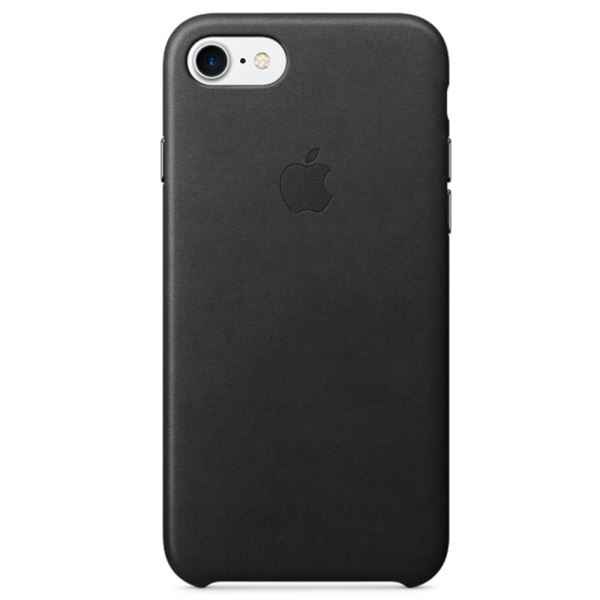 APPLE MMY52ZM/A IPHONE 7 DERİ KILIF- (SİYAH)