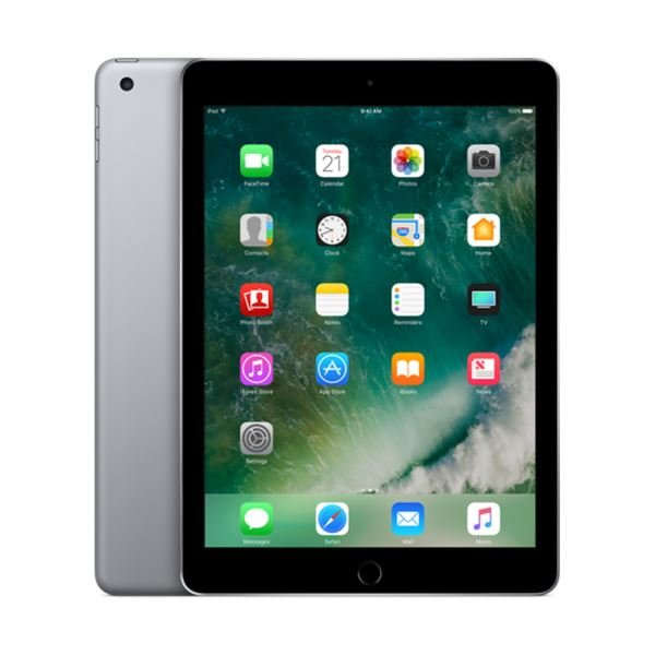 Ipad-128GB WIFI-Space Grey-9.7''Retina-Bluetooth-10 Saate KadarPilÖmrü-469Gr