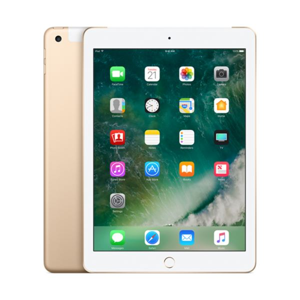 Ipad-128GB WIFI+4G-Gold-9.7''Retina-Bluetooth-10SaateKadarPilÖmrü-478Gr