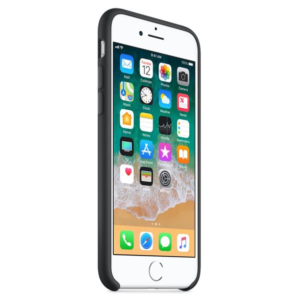 APPLE MQGK2ZM/A IPHONE 8/7 SİLİKON KILIF- (SİYAH)