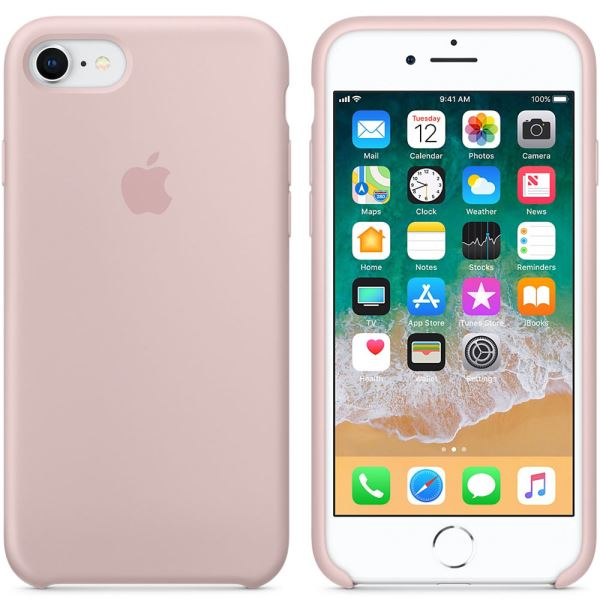 APPLE MQGQ2ZM/A IPHONE 8/7 SİLİKON KILIF- (KUM PEMBESİ)