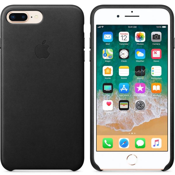 MQHM2ZM/A IPHONE 8 PLUS /7 PLUS DERİ KILIF- (SİYAH)