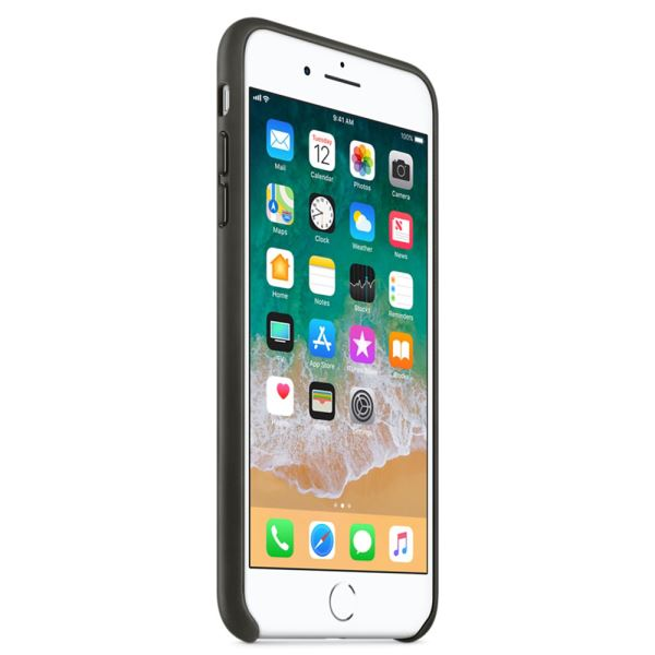 APPLE MQHP2ZM/A IPHONE 8 PLUS /7 PLUS DERİ KILIF- (KÖMÜR GRİSİ)