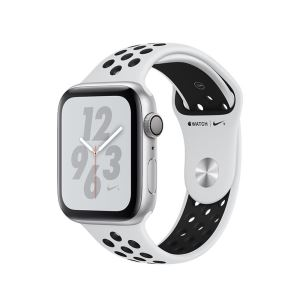 Apple Watch Nike+ Series 4 GPS,40mm Silver Aluminium Case with Pure Platinum/Blk