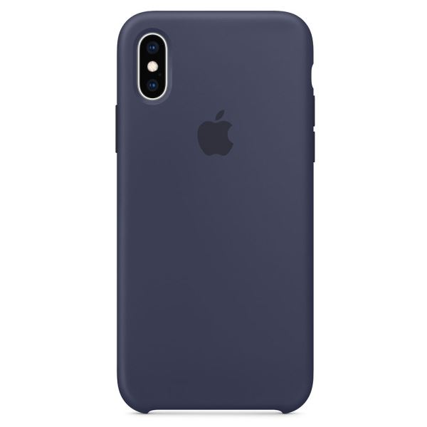 APPLE MRW92ZM/A IPHONE XS SİLİKON CASE - GECE MAVİSİ