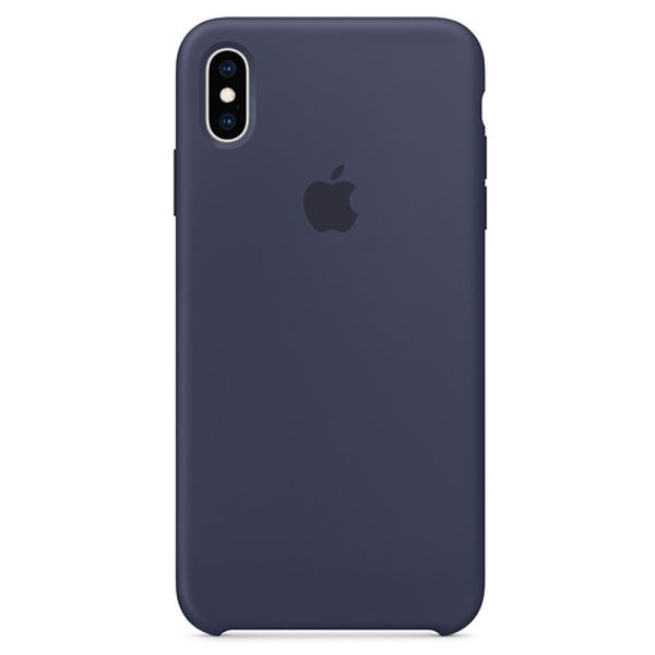 APPLE MRWN2ZM/A IPHONE XS LEATHER CASE - GECE MAVİSİ